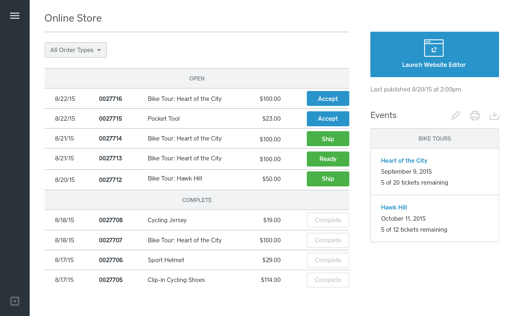 Shop customer account create/downloader - Ready For Any Kind Of Delivery