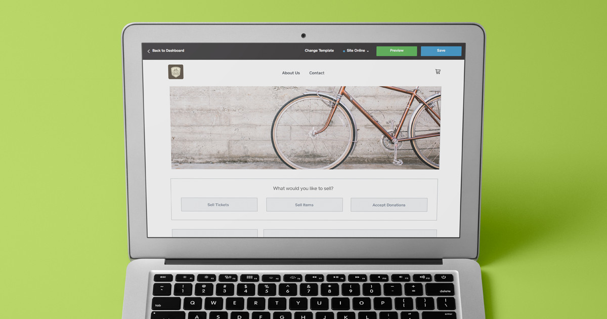 how to create your own online store website